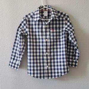 Carter's checker shirt 4T